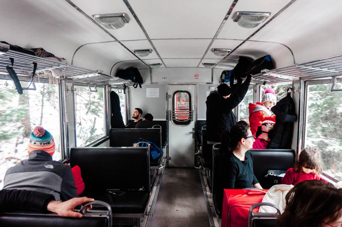 ბორჯომ-ბაკურიანის მატარებელი - ერთდღიანი გასეირნება 1