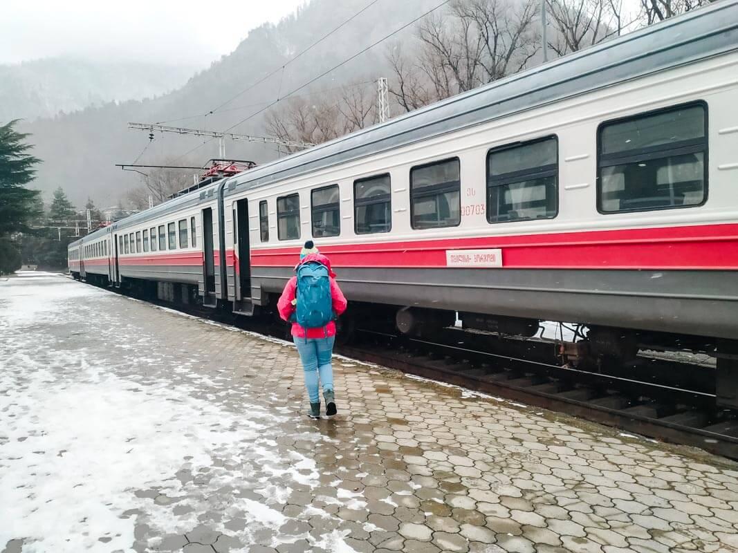ბორჯომ-ბაკურიანის მატარებელი - ერთდღიანი გასეირნება 10