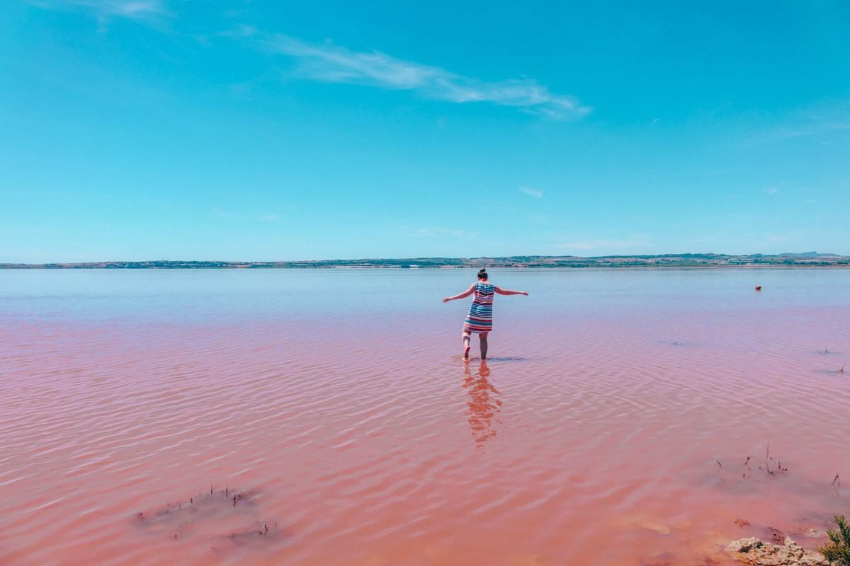 Torrevieja Pink Lake