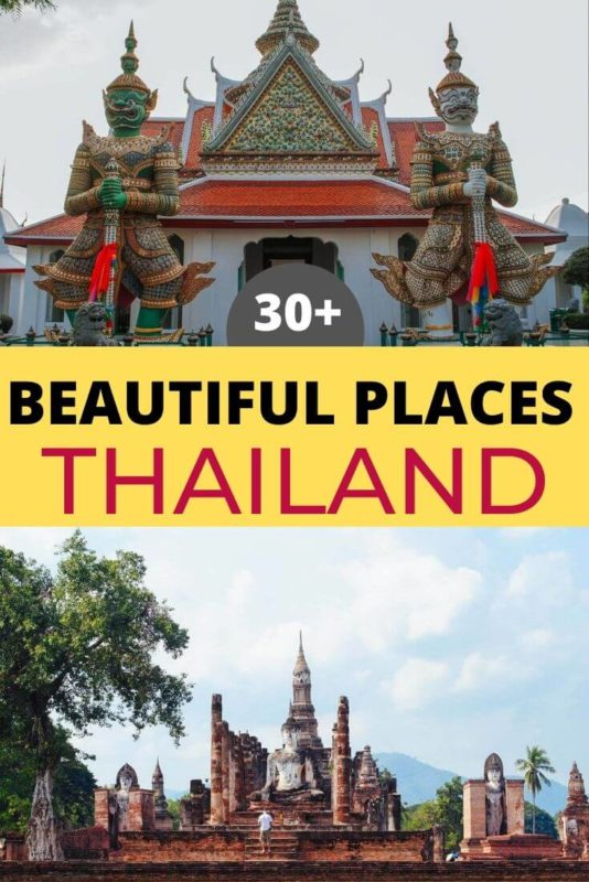 30+ Beautiful Places in Thailand 19