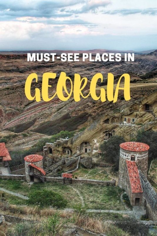 must=see places in Georgia