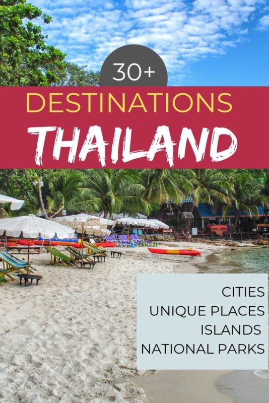 30+ Beautiful Places in Thailand 20