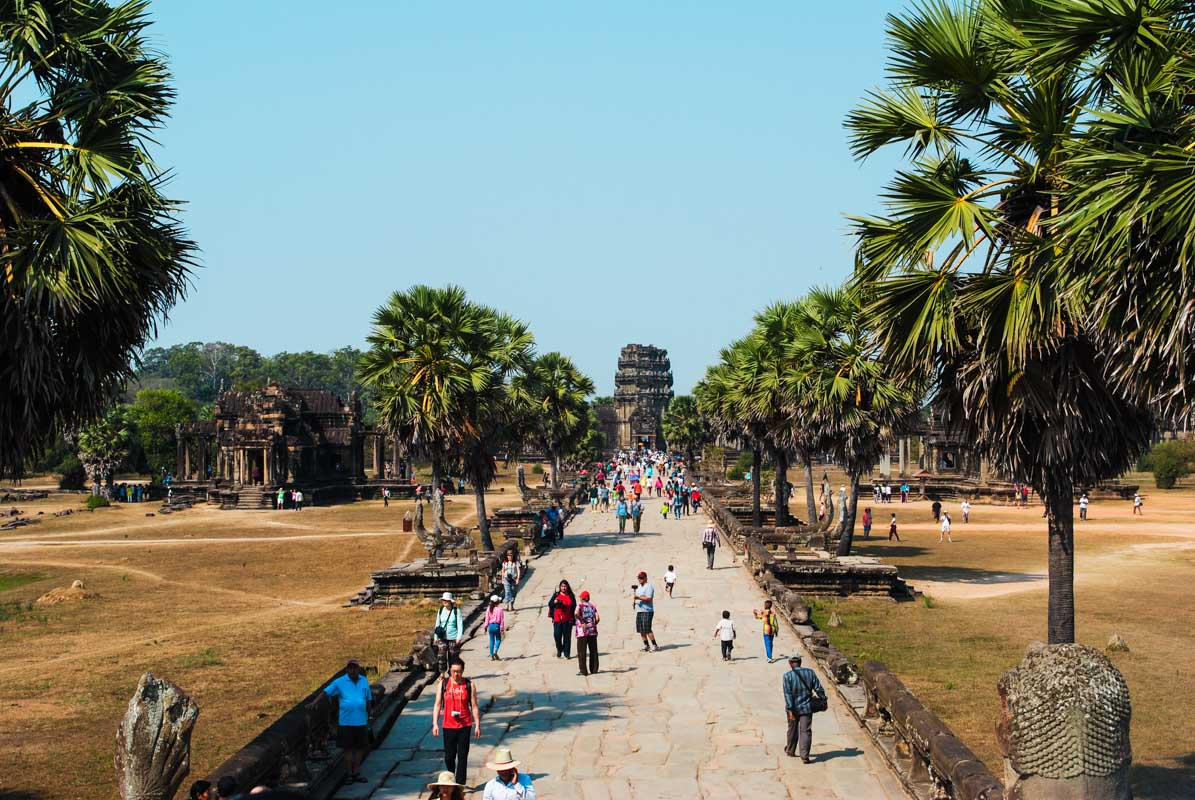 Visiting Angkor Wat