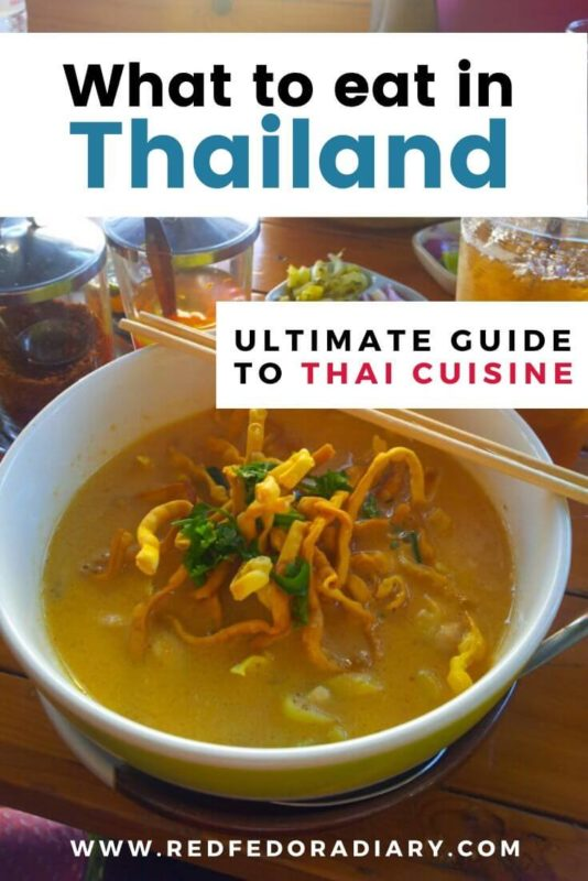 Thai Cuisine dishes