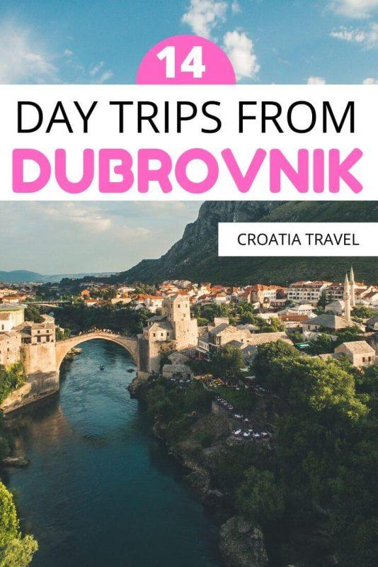 day trips from duborvnik