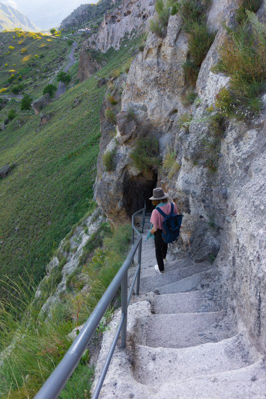 Visiting Vardzia - the Biggest Cave-town in Geogria 6