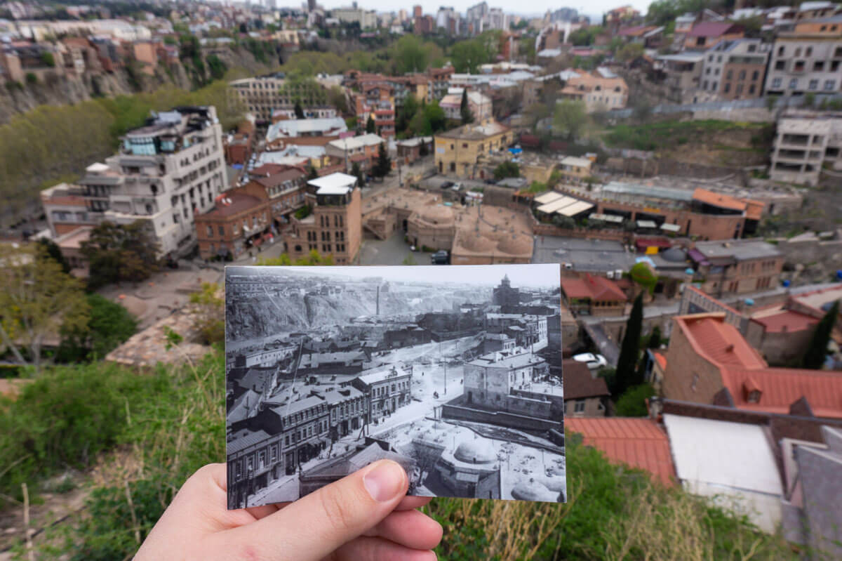 Tbilisi Photos: How the Capital Changed Over the Centuries 2